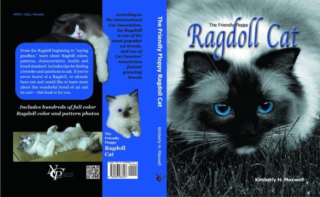 The Friendly Floppy Ragdoll Cat hardback