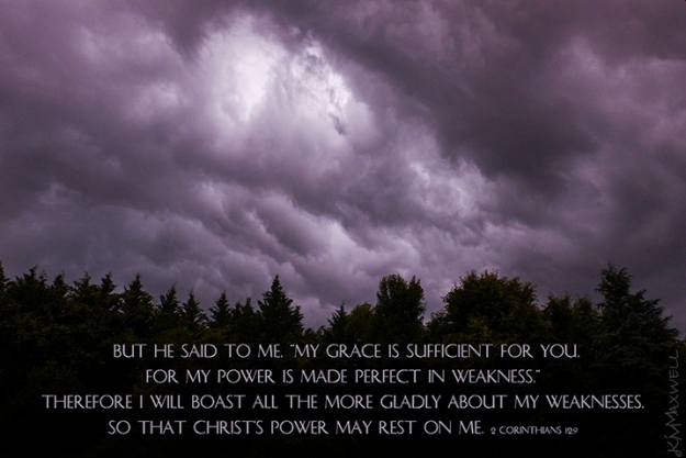 2 Corinthians 12 9 Grace in weakness medium