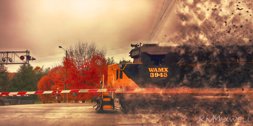 Train blow out sm