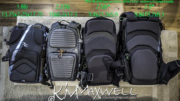 4 bags backs