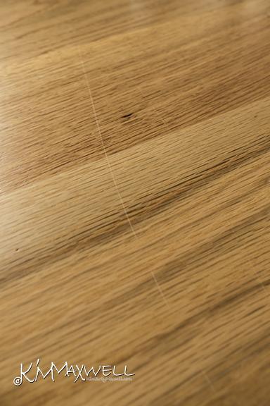 floor scratched