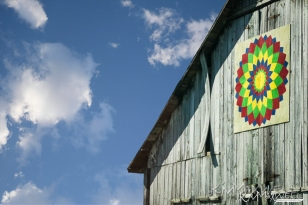 Barn Quilt Square in KY