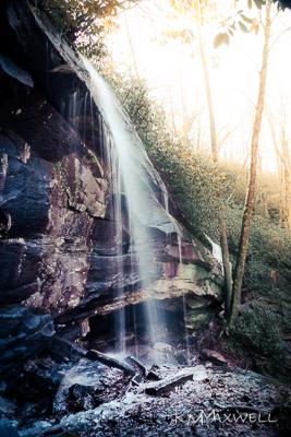 Slick Rock Falls Waterfall