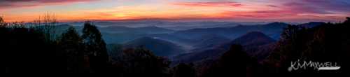 Sunrise BRP at Mills River Valley 10 31 2018 07.39.37-Pano-e-sm
