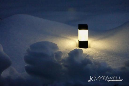 light in the snow-sm