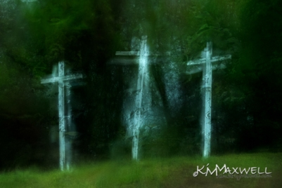 KimMaxwell_3 Crosses in the rain Good Friday_AO_3-sm