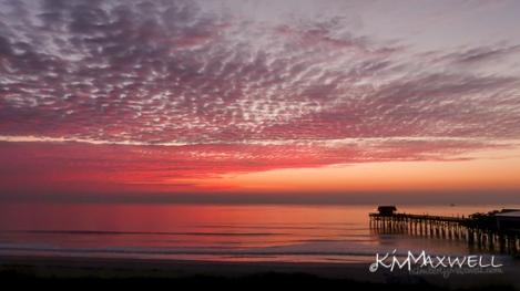 Cocoa beach sunrise from our LaQuinta balcony 2-26-14 (16)-sm