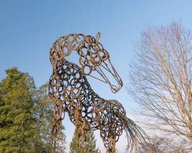 Horse sculptures (1) (Custom)